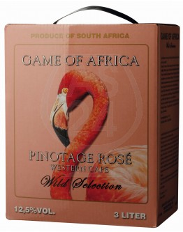 Game of Africa Pinotage Rosé 3,0l