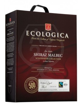 Ecologica Shiraz Malbec 3,0l