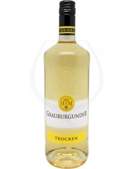 HXM Weinkellerei Hechtsheim Grauburgunder trocken 1,0l