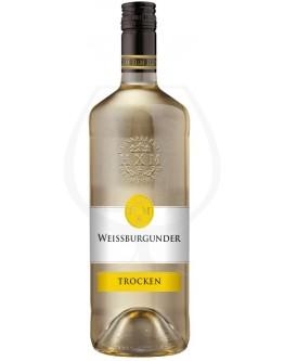 HXM Weinkellerei Hechtsheim Weißburgunder trocken 1,0l