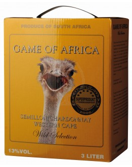 Game of Africa Semilion-Chardonnay 3,0l