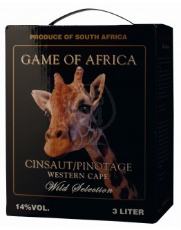 Game of Africa Cinsault Pinotage 3,0l