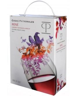 Casas Patronales Rosé Cabernet-Sauvignon/Merlot 3,0l