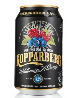 Kopparberg Wildberries X-Strong 24x0,33l