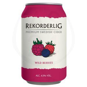 Rekorderlig Wild Berries 24x0,33l