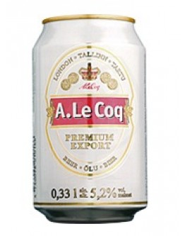 A Le Coq Premium Export 24x0,33l